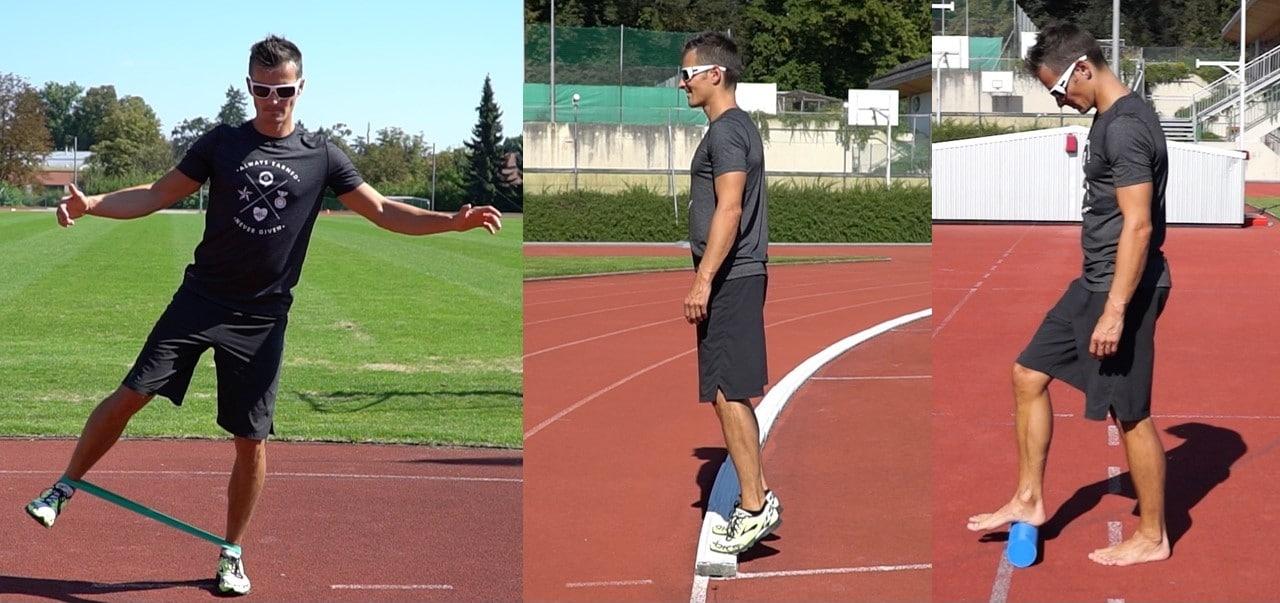 Übungen Achillessehne