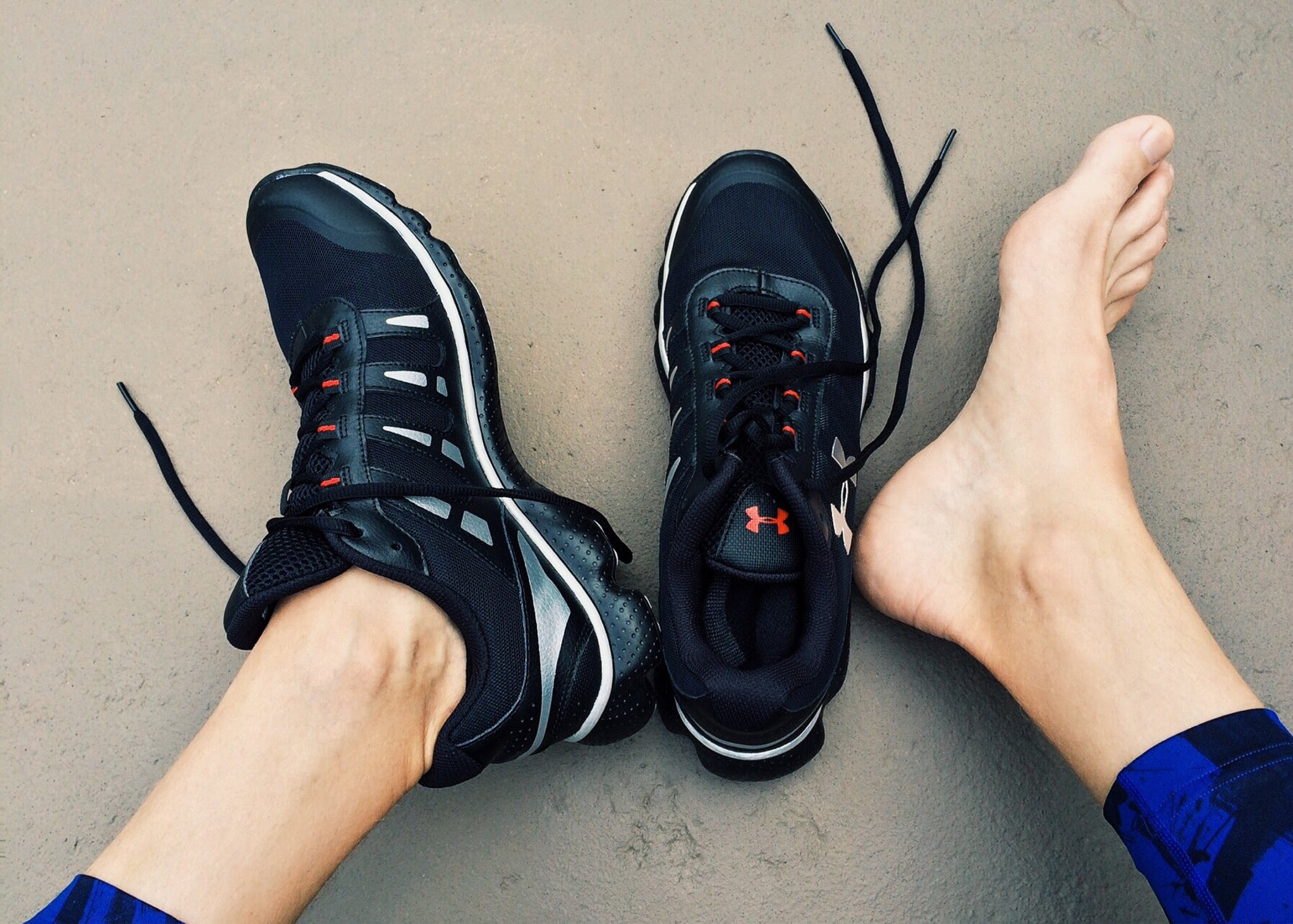 Schmerzen der Achillessehne beim Laufen