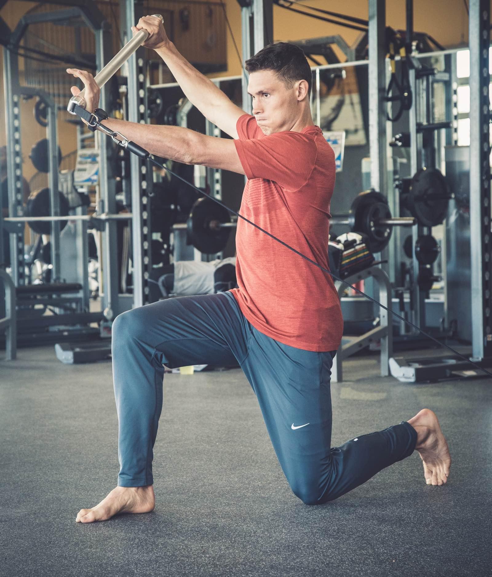 Sensomotorisches Training und Sprunggelenk